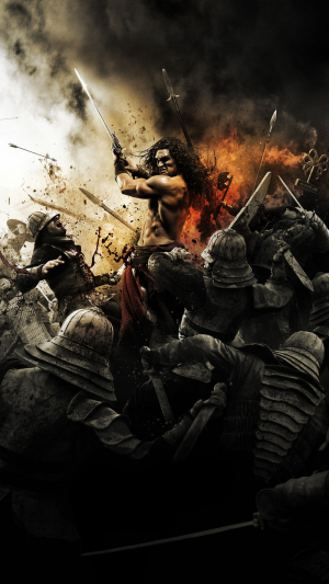 Conan the Barbarian 2011 movie