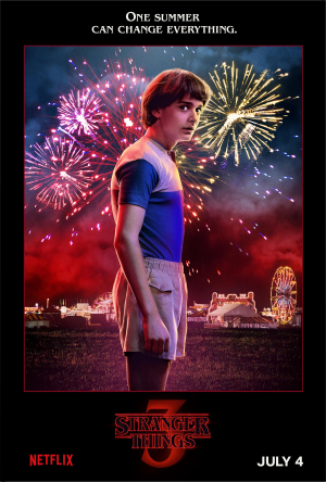 "Netflix's new Stranger Things 3 William ""Will"" Byers (Noah Schnapp)"