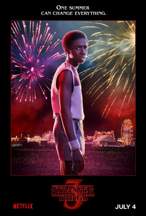 New Stranger Things 3 Lucas Sinclair (Caleb McLaughlin)
