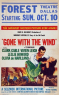 Art Gone with the Wind 1939 movie LSJR 03