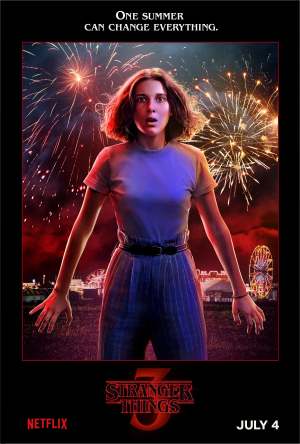stranger things 3 Eleven (Millie Bobby Brown)