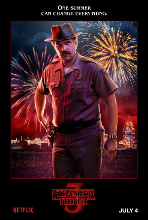 "Stranger Things 3 James ""Jim"" Hopper (David Harbour)"