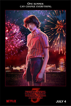 Stranger Things 3 Mike (Finn Wolfhard) july 4